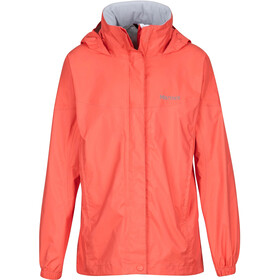 Marmot PreCip Jacket Girls Living Coral